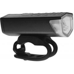 Lampa przednia /akumulator/ 200lm USB czarna