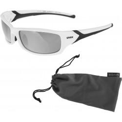 Okulary UVEX Sportstyle 211 - biało-czarne