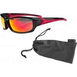 Okulary UVEX Sportstyle 211 - czarno-czerwone