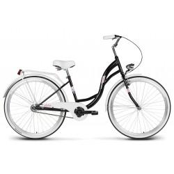 Rower 26 VELLBERG LAVENDER VELO, czarny +biały
