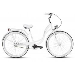 Rower 26 VELLBERG LAVENDER VELO, biały