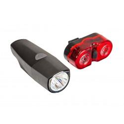 Lampa p+t  p.1-diod. + t.2-diod. R-303 ROMET USB