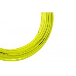 Pancerz przerzutkowy ACCENT 4mm x 3m żółty fluo