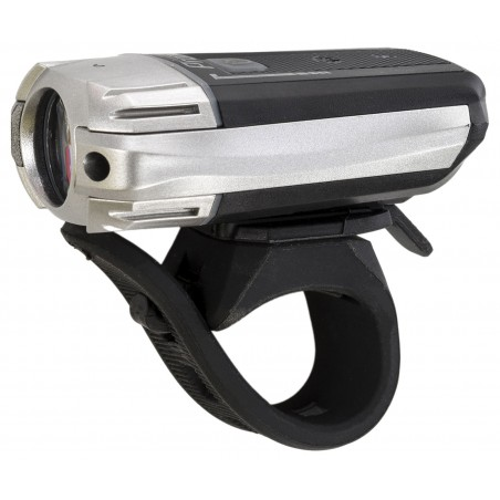 Lampa przednia PROX URSA 1-Led 300Lm USB czarna