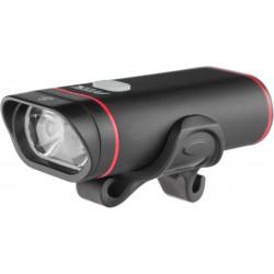 Lampa przednia /akumulator/ PROX HYDRA DUAL 2 x cree 500Lm czarna USB