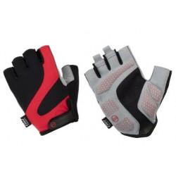 Rękawiczki ACCENT Apex czarno-czerwone XXL