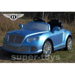 Samochód BENTLEY akum + pilot niebieski