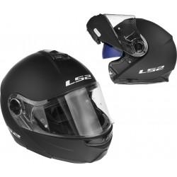 Kask motocyklowy LS2 FF325 STROBE szczękowy blenda, czarny mat XL 61-62cm