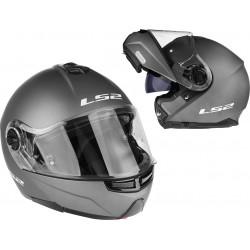 Kask motocyklowy LS2 FF325 STROBE szczękowy blenda, grafit mat L 59-60cm