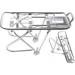 Bagażnik 24-28 HYJ-D10 aluminiowy regulowany srebrny