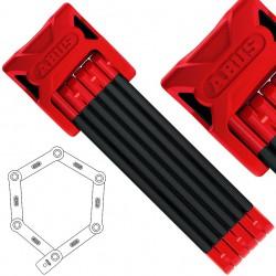 Zamknięcie ABUS Bordo 6000 składane czerwone SH 90cm