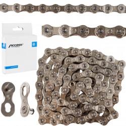 Łańcuch ACCENT AC-903 9 rzed. srebrny
