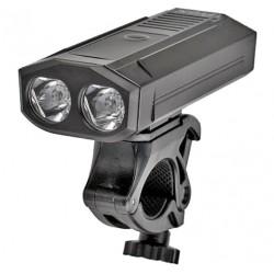 Lampa przednia /akumulator/ PROX HADAR 900lm, 5200mAh powerbank, USB