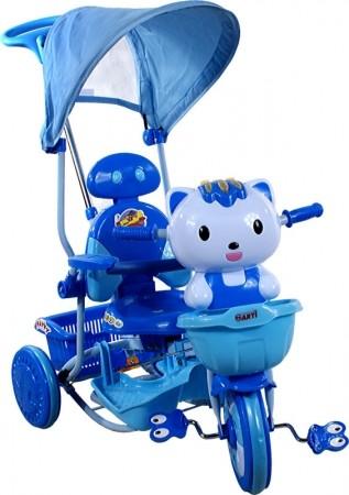 Rowerek trójkołowy ARTI Kotek NEW granatowo-niebieski