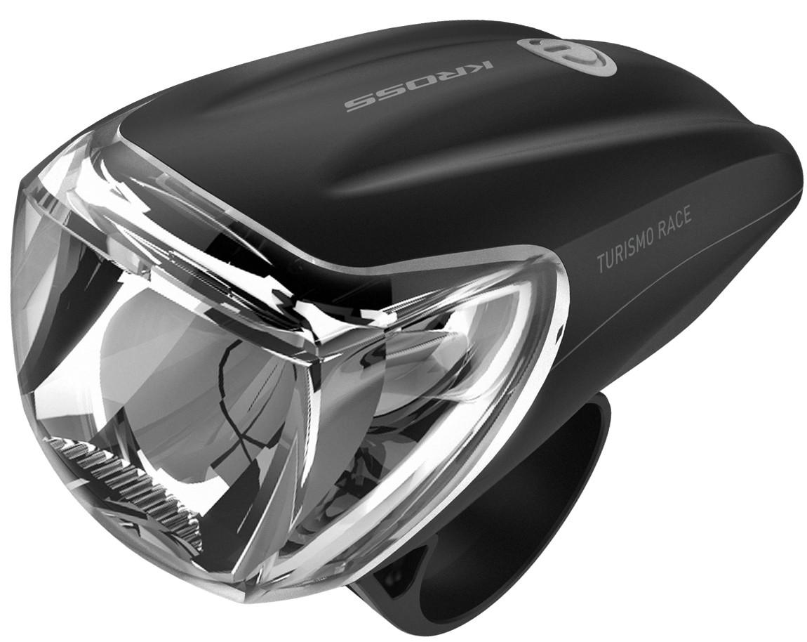 Lampa przednia KROSS TURISMO Sport Baterie AAA 3W 150lm czarna