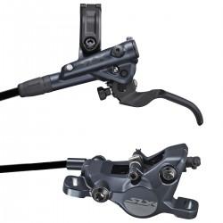 Hamulec tarczowy hydrauliczny SHIMANO BR-M7100 SLX przód 1000mm czarny okł. żywiczne bez rad.