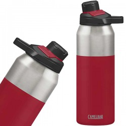 Kubek termiczny CamelBak Chute Vacuum Mag 32oz 1L sreb-czerwony