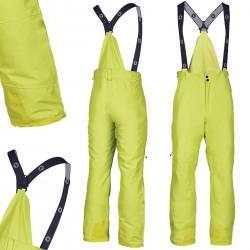 Spodnie narciarskie BLIZZARD Ischgl żółte M 20000