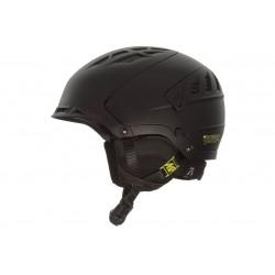 Kask narciarski K2 DIVERSION słuchawki JACK 3,5mm L 59-62cm czarny