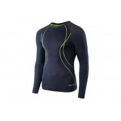 Koszulka termoaktywna HI-TEC IKAR męska XXL czarno-lime