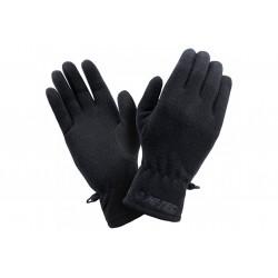 Rękawiczki zimowe Hi-TEC SALMO damskie czarne S/M