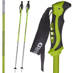 Kijki narciarskie BLIZZARD Allmountain zielono-czarno-srebrne 130 cm