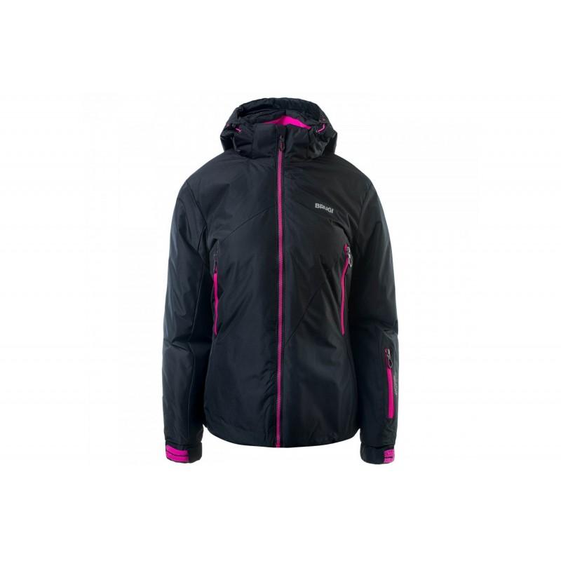 Kurtka narciarska BRUGI 2AK4 damska XL czar róż 500 black