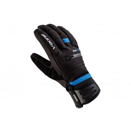 Rękawice narciarskie VIKING KURUK SKI 8 czarno-niebieskie