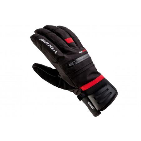 Rękawice narciarskie VIKING KURUK SKI 9 czarno-czerwone