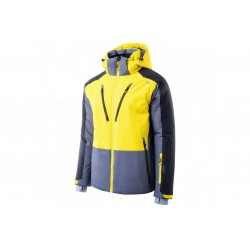 Kurtka narciarska BRUGI 4AP9 męska XL szar-żół SYG