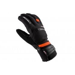 Rękawice narciarskie VIKING KURUK SKI 8 czarno-pomarańczowe