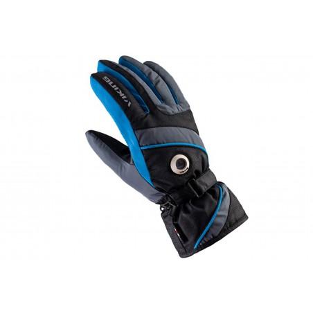 Rękawice narciarskie męskie VIKING TRICK SKI czarno-niebieskie 9