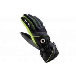Rękawice narciarskie męskie VIKING TRICK SKI czarno-zielone 8