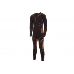 Bielizna termoaktywna VIKING BRUNO męska XL czar-pomar (koszulka+spodnie)