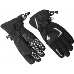 Rękawiczki narciarskie BLIZZARD Reflex czarno-srebrne rozmiar 9