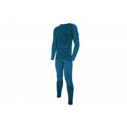 Bielizna termoaktywna męska VIKING LUCAS BAMBOO niebieska XL