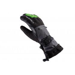 Rękawice narciarskie VIKING RAZOR FREERIDE czarno-limonkowe 7
