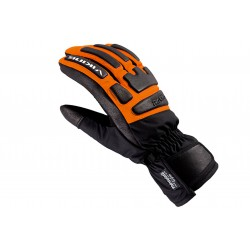 Rękawice narciarskie VIKING COACH RACING czarno-pomarańczowe 10