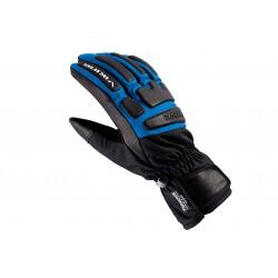 Rękawice narciarskie VIKING COACH RACING czarno-niebieskie 8