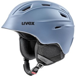 Kask narciarski UVEX FIERCE szary mat 59-61 L/XL