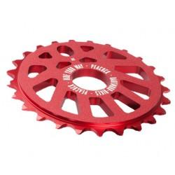Zębatka DARTMOOR BMX PEACOCK ALU 28z czerwona