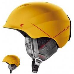 Kask narciarski CARRERA C-LADY YELLOW MAT 51-54