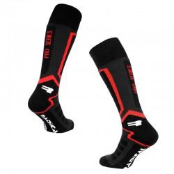 Skarpety narciarskie ROUGH RADICAL PRO SERIES 35-38 czarno-czerwone
