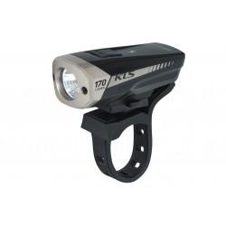 Lampa przednia /akumulator/ KELLYS KLS SPITFIRE 170lm 4F czarno-szara
