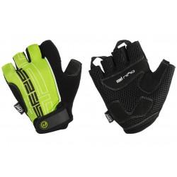 Rękawiczki ACCENT EL NINO czarno-zielone L