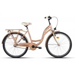 "Rower 26"" VELLBERG CityLine TORPEDO złoty"