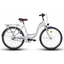 "Rower 26"" VELLBERG CityLine TORPEDO srebrny"