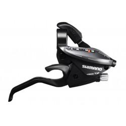 Dźwignie zespolone SHIMANO ST-EF510 ALTUS - 3x8 czarne