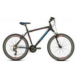 """Rower 26 KANDS ENERGY 700 M MTB T TY300/steff 19"""" czarno-niebiesko-czerwony mat"""