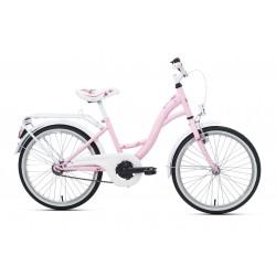 Rower 20 KANDS DIANA różowo-biały mat